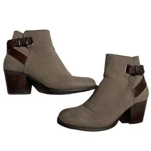 Call It Spring Ankle Booties with Buckle Detail
